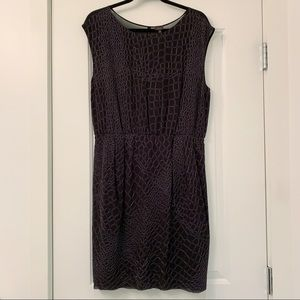 Aritzia Babaton 100% Silk Dress with Sheer Back